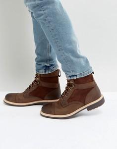 Кожаные ботинки на шнуровке UGG Magnusson Treadlite - Коричневый
