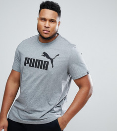 Серая футболка Puma PLUS ESS No.1 83824103 - Серый
