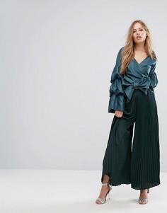 Широкие брюки Keepsake Deep Water - Зеленый