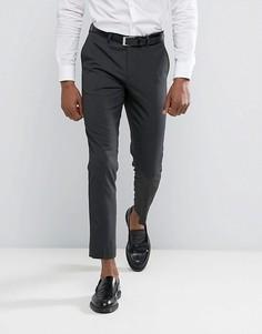 Темно-серые брюки скинни River Island - Серый