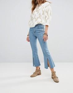 Укороченные джинсы Moon River - Синий