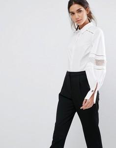 Рубашка с объемными рукавами Coast - Белый