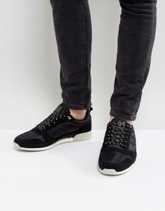 Черные кроссовки с фактурной отделкой River Island - Черный