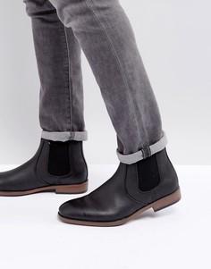 Черные ботинки челси River Island - Черный