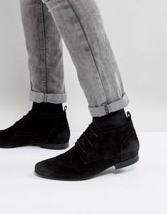 Черные замшевые ботинки чукка River Island - Черный