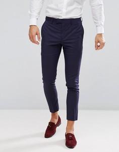 Фиолетовые брюки скинни River Island - Фиолетовый