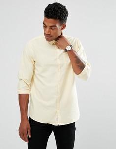 Желтая оксфордская рубашка классического кроя River Island - Желтый