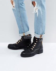 Черные походные ботинки New Look - Черный