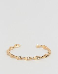 Витой браслет Pieces - Золотой