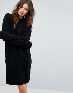 Платье-джемпер Y.A.S - Черный