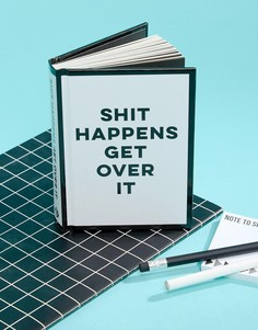 Книга Shit Happens Get Over It - Мульти Books