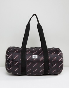 Складная сумка дафл Herschel x Independent Truck Company - Черный