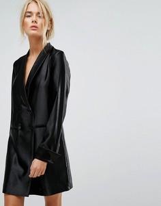 Длинное платье-блейзер Gestuz - Черный