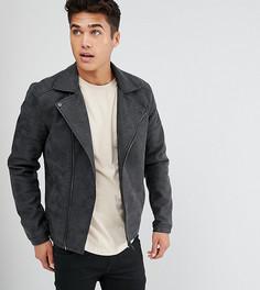 Байкерская куртка из искусственной кожи Only & Sons - Черный