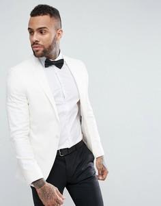Белый облегающий пиджак на выпускной River Island - Белый