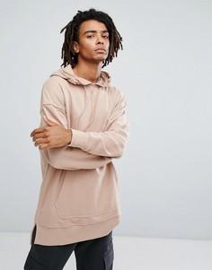 Свитшот с заниженной линией плеч New Look - Розовый