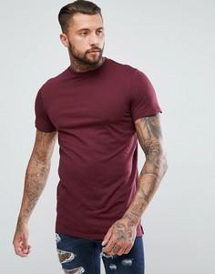 Длинная футболка New Look - Красный