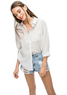 f5c53cb07bc Купить женские блузки с карманами в интернет-магазине Lookbuck ...