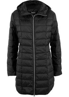 Легкое пальто-пуховик (черный) Bonprix