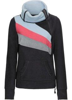 Флисовая куртка (черный/различные расцветки) Bonprix