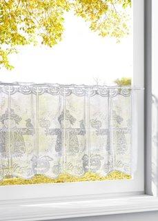 Короткая штора Чучело (белый) Bonprix