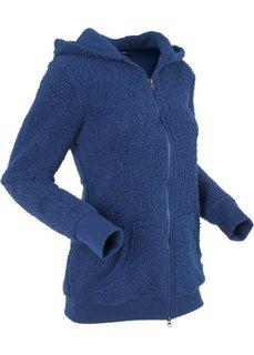 Плюшевая куртка (ночная синь) Bonprix