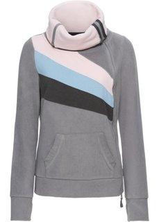 Флисовая куртка (серый) Bonprix