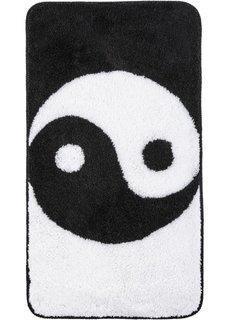 Коврик для ванной Инь и Янь (черный/белый) Bonprix