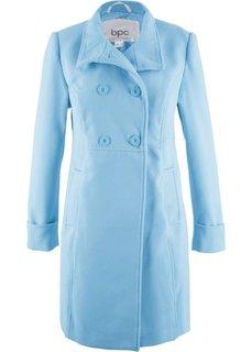 Пальто с воротником-стойкой (нежно-голубой) Bonprix