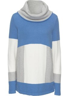 Пуловер + шарф-снуд (2 изд.) (синий/различные расцветки) Bonprix