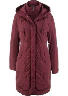 Куртка на подкладке (темно-бордовый) Bonprix