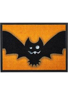 Дверной коврик Летучая мышь (оранжевый) Bonprix