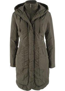 Куртка на подкладке (темно-оливковый) Bonprix