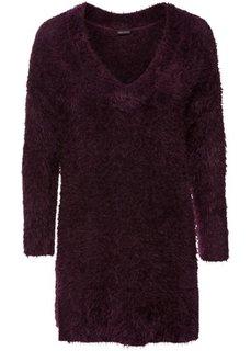 Пуловер (бузинично-ягодный) Bonprix