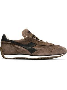 кроссовки с контрастным логотипом Diadora