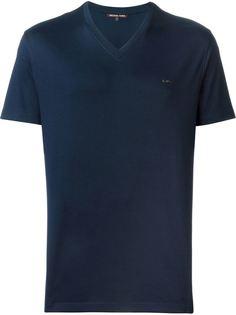футболка с V-образным вырезом Michael Kors