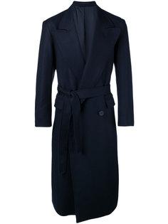 двубортное пальто с широкими лацканами E. Tautz