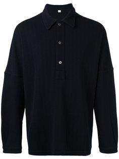 рубашка-поло с длинными рукавами E. Tautz