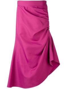 асимметричная юбка с оборками Marni