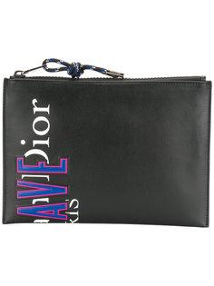 клатч с логотипом Dior Homme