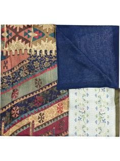 шарф с ацтекским принтом Pierre-Louis Mascia