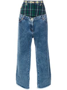 свободные двухслойные джинсы Natasha Zinko
