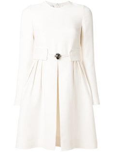 платье мини с поясом  Valentino