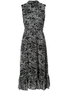 длинное платье без рукавов Derek Lam 10 Crosby
