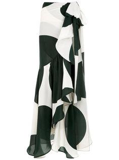 printed silk maxi skirt Adriana Degreas
