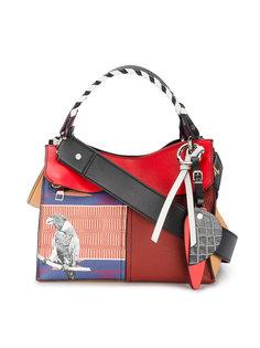 сумка с несколькими принтами Curl Proenza Schouler