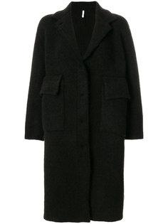 однобортное пальто  Boboutic