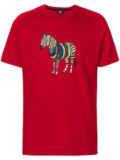 футболка с принтом зебры Ps By Paul Smith