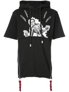 short-sleeved hoodie Haculla