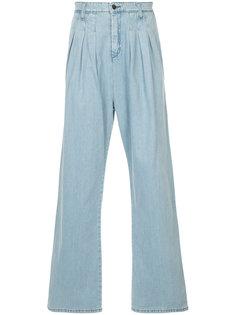 джинсы с плиссировкой  Strateas Carlucci